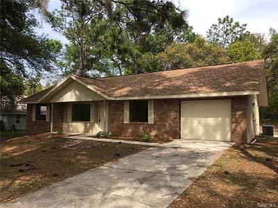 Hernando Single Family Home For Sale: 3621 N Tyrone Avenue