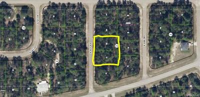 Citrus Springs Residential Lots & Land For Sale: 7411 N July Terrace