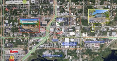 Inverness Commercial For Sale: 107 Courthouse Square