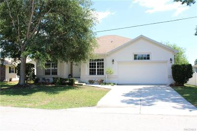 Crystal River Single Family Home For Sale: 1027 SE 4th Avenue