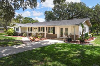 Floral City Single Family Home For Sale: 9450 E Tsala Apopka Drive