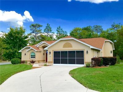 Homosassa Single Family Home For Sale: 14 Primula Drive