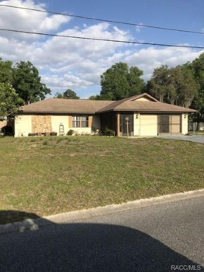 Inverness Single Family Home For Sale: 944 Hickory Avenue