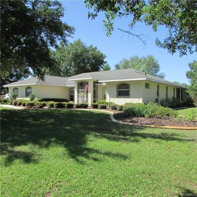 Inverness Single Family Home For Sale: 9056 E Sweetwater Drive