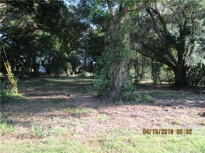Citrus County Residential Lots & Land For Sale: 3840 E Orange Drive