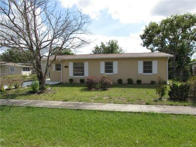 Citrus County Single Family Home For Sale: 9577 N Elliot Way