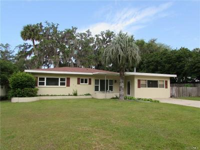 Dunnellon Single Family Home For Sale: 11636 Osceola Road