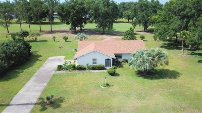 Hernando FL Single Family Home For Sale: $191,000