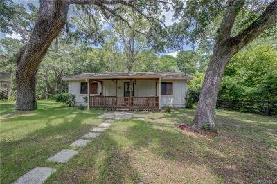 Dunnellon Single Family Home For Sale: 4071 E Riverside Drive