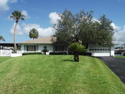 Crystal River Single Family Home For Sale: 2250 N Pilot Point
