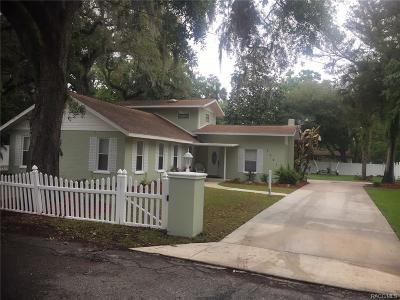 Homosassa Single Family Home For Sale: 5531 S Magnolia Avenue