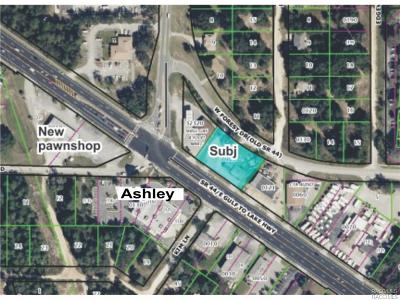 Inverness Commercial For Sale: 2608 Highway 44 W Highway