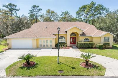 Homosassa Single Family Home For Sale: 19 W Cyclamen Court