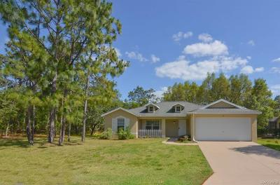 Homosassa Single Family Home For Sale: 67 Black Willow Street