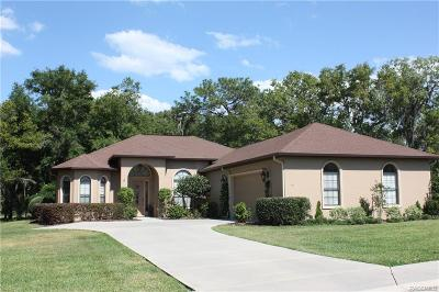 Hernando FL Single Family Home For Sale: $345,000
