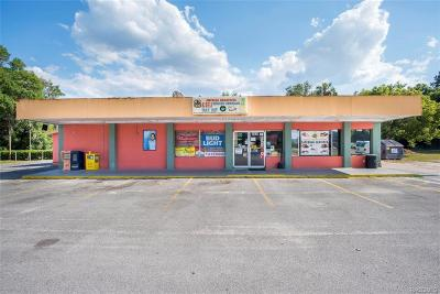 Citrus County Commercial For Sale: 3030 W Gulf To Lake Highway