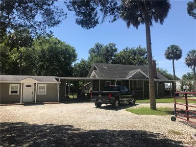 Crystal River Single Family Home For Sale: 272 NE 3rd Street
