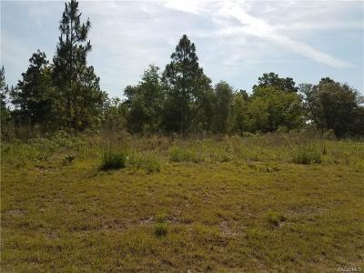 Citrus Springs Residential Lots & Land For Sale: 6653 N Elkcam Boulevard