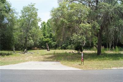 Floral City Residential Lots & Land For Sale: 11702 E Cardinal Street