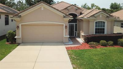 Hernando FL Single Family Home For Sale: $239,000