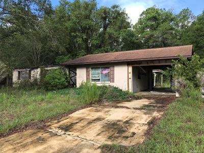 Crystal River Single Family Home For Sale: 8420 N Troccoli Terrace