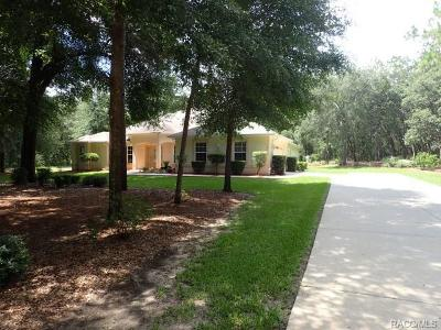 Hernando FL Single Family Home For Sale: $349,900