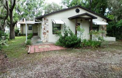 Homosassa, Dunnellon Single Family Home For Sale: 5219 W Gala Lane