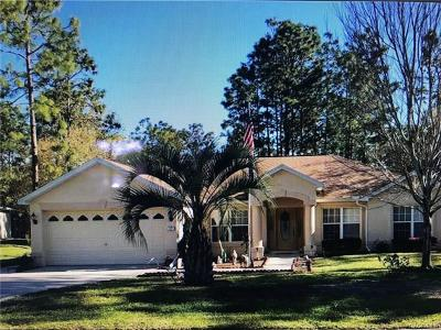 Citrus County Single Family Home For Sale: 17 Eugenia Court N