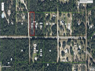Citrus County Residential Lots & Land For Sale: 3623 N Sarah Point