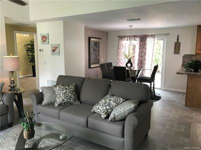 Homosassa Single Family Home For Sale: 6032 S Lewdingar Drive