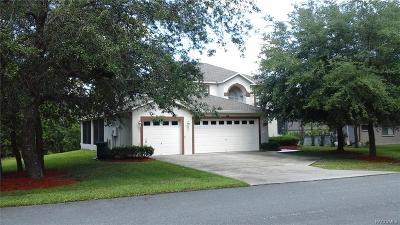 Homosassa Single Family Home For Sale: 4 Hazelwood Court S