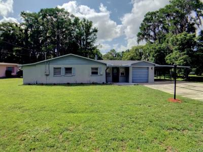 Citrus County Single Family Home For Sale: 1940 S Mooring Drive
