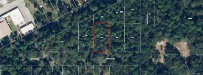 Dunnellon Residential Lots & Land For Sale: 2799 W Starkist Lane