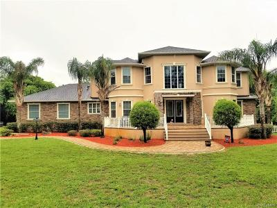 Citrus County Single Family Home For Sale: 610 W Britain Street