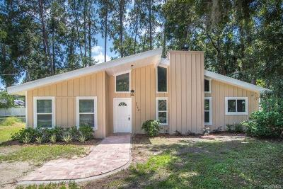 Homosassa Single Family Home For Sale: 3728 S Eastpark Way