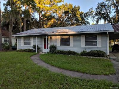 Levy County Single Family Home For Sale: 20196 SE 115 Court