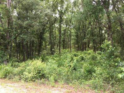 Dunnellon Residential Lots & Land For Sale: 6950 W Dunklin Street