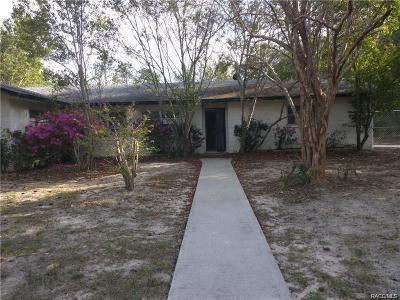 Dunnellon Single Family Home For Sale: 23288 SW Green Bay Drive