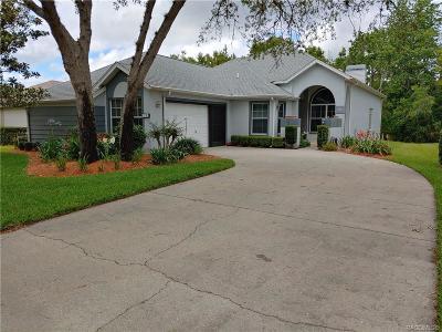 Homosassa Single Family Home For Sale: 13 Byrsonima Court S