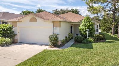 Lecanto Single Family Home For Sale: 1763 W Zoe Court