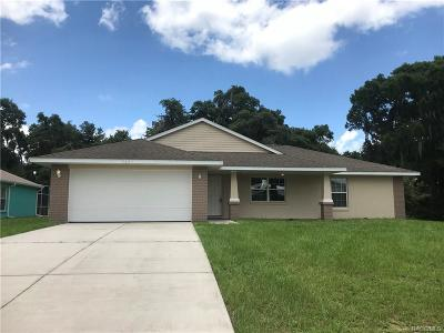 Inverness Single Family Home For Sale: 9081 E Cashiers Court