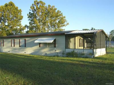Homosassa Multi Family Home For Sale: 6911-6919 W Cardinal Lane