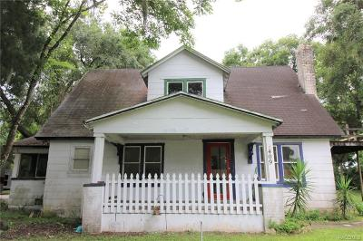 Inverness Single Family Home For Sale: 409 Tompkins Street