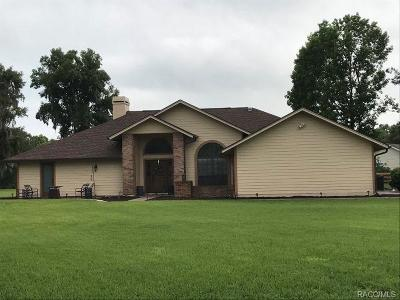 Inverness Single Family Home For Sale: 8714 E Sweetwater Drive
