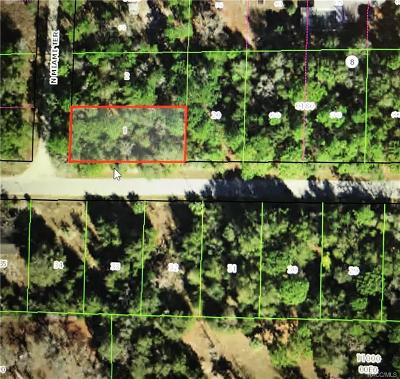 Dunnellon Residential Lots & Land For Sale: 10045 N Miami Terrace