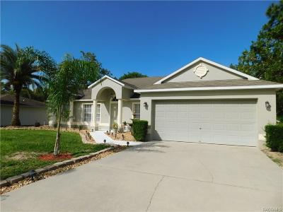 Citrus Springs Single Family Home For Sale: 1362 W Hampshire Boulevard
