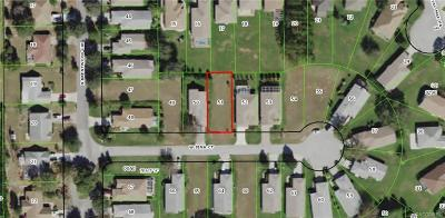 Lecanto Residential Lots & Land For Sale: 1907 W Jena Court