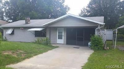 Citrus County Rental For Rent: 1135 N Fan Palm Point