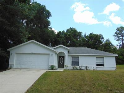 Inverness Highlands West Single Family Home For Sale: 3461 S Oakdale Terrace
