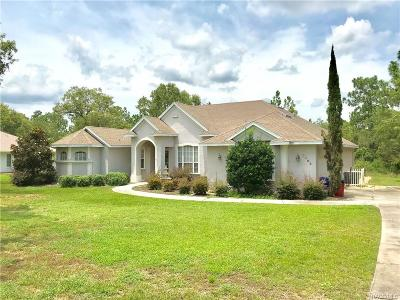 Citrus Hills - Celina Hills Single Family Home For Sale: 2409 E Newhaven Street